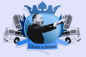 Martin Luther King Jr. by the-skunk