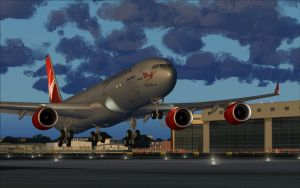 The Beauty's Arrival - The Virgin A340-600 by B737TheAirliner