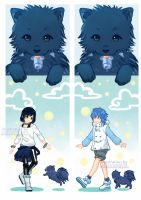 DRAMAtical Murder: Sei Aoba Bookmarks by sakonma
