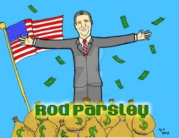 False Preacher: Rod Parsley by ArtNGame215