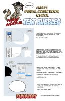 Comic Tutorial - Text Bubbles by akeli