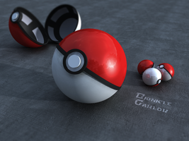 Pokeball by BionicleGahlok