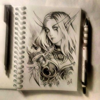 Instaart - Sylvanas by Candra