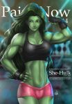 She-Hulk Cover by ryusoko by cerebus873