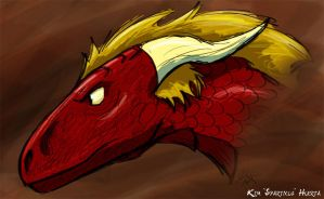Red Dragon by spartydragon