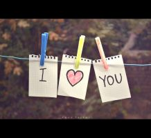 i love you by birazhayalci