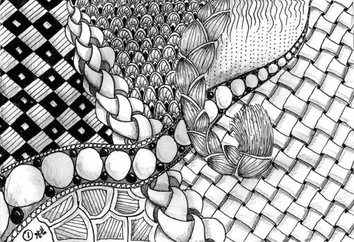Zentangle by Itti