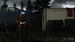 Rainy, rainy, Spartan. by Sigi09