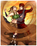 Paypal Commission :Gaara and Hotaru: by NammyLank