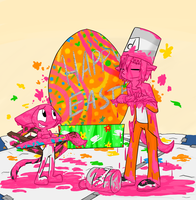 Easter Paint by sami86404
