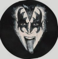 Vynil - Gene Simmons by neoyurin