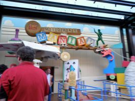 Toy Story Midway Mania by ToaDJacara