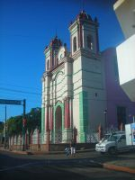 Mexico_Iglesia Catolica Teapa by zoesaday