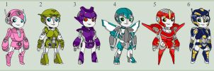 Adopt-a-bot (femme sparkling CLOSED) by Hinata2000