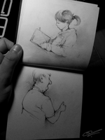 People studies ~ Miniature series by SCIFIJACKRABBIT