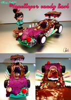 Disney-Mini 4WD Vanellope's candy kart by ChiehChen