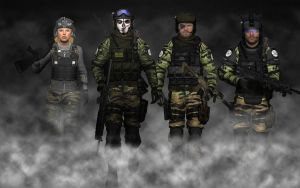 Blackforce Commanders by Kommandant4298