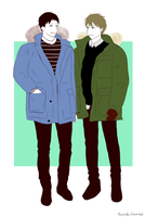 winter clothes by aokacchi