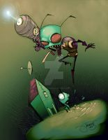 013 - Invader Zim. by JeremyTreece