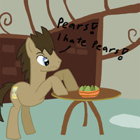 Doctor hates pears by Ailynd