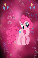 Pinkie Pie Iphone BG by TecknoJock