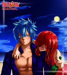 Erza and Gerard - Drunk [Fairy Tail] by FiorFior