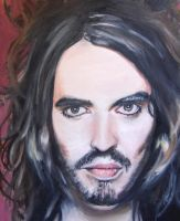 Russell brand in oil by BlackbitsInBananas