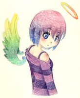 .::ColourFul Angel::. by Love-The-Nekos