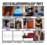 Art Summary 2013 by Creativity-Squared