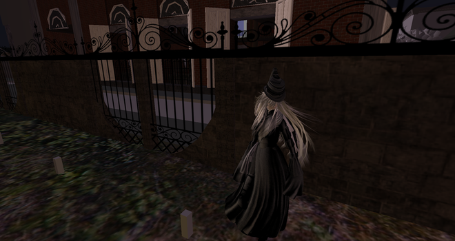 Undertaker in Second Life! by hippiewitch