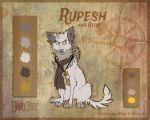 Rupesh and Bitsy - Character Sheet by Skailla