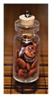 Miniature Cookie Jar Charm by bettenoir87