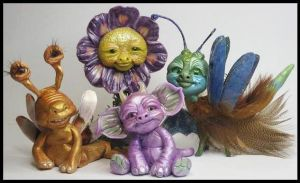 New Littles Creatures by KabiDesigns