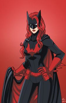 Batwoman commission by phil-cho