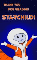 Starchild: Thank You for Reading! by Athelscop