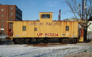 Union Pacific Caboose 903014 by JamesT4