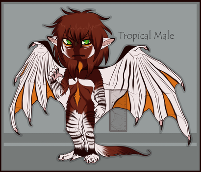 Tropical Male -sold- by shorty-antics-27