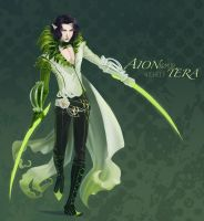 Ciaren In Green Aion by neodios