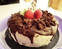Black Forest Gateaux by myoutenshi