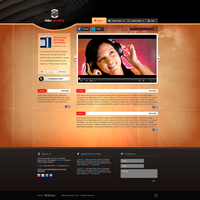 Video Converter (Website Concept) by sashander