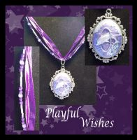 Playful Wishes Necklace by Fallonkyra