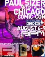 BPM Chicago Comic-Con by PaulSizer
