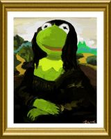Mona Froggy by PixelBunny