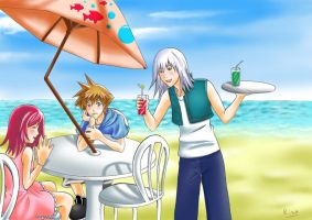KH's holidays by Risa1