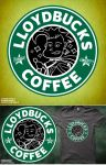 LloydBucks! Hot? (Iced??) Coffee! Shirt Design by a745