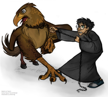 Come on Buckbeak by ToxicKittyCat