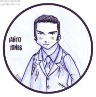 TW- Ianto sketch by ryuuri
