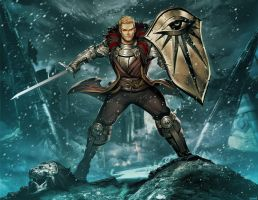 Cullen Rutherford - Dragon Age inquisition by GENZOMAN
