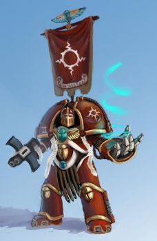 Thousand sons terminator by Dilvish585