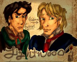 TID: Lightwood Brothers by angel-gidget
